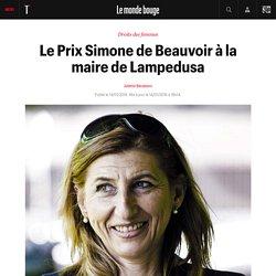 Le Prix Simone de Beauvoir à la maire de Lampedusa