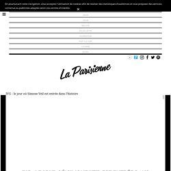 IVG : le jour où Simone Veil est entrée dans l'histoire - La Parisienne