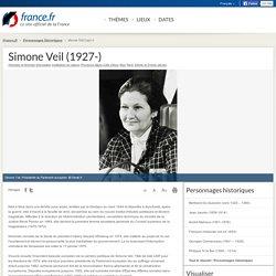 Simone Veil (1927-)