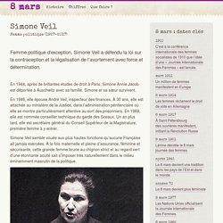 Simone Veil - 8mars.info