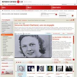 Simonne Monet-Chartrand, une vie engagée