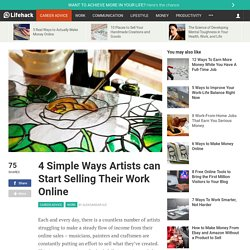 4 Simple Ways Artists can Start Selling Their Work Online