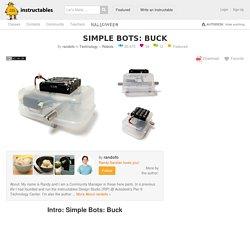 Simple Bots: Buck: 18 Steps