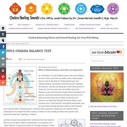 Chakra Balance Test