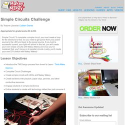Simple Circuits Challenge