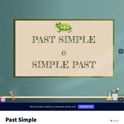 Past Simple by Clara Mingrino on Genially