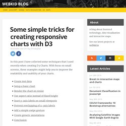 Some simple tricks for creating responsive charts with D3