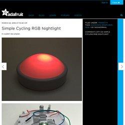 Simple Cycling RGB Nightlight