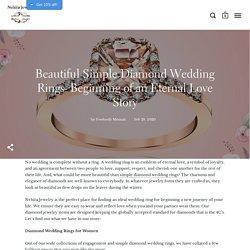 Simple Diamond Wedding Rings to Make Your Big Day Special – Nehita