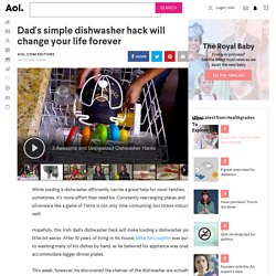 Dad's simple dishwasher hack will change your life forever