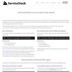 Simple and fast .NET Web Services framework