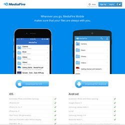 Simple File Sharing and Storage.