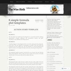 8 simple formula plot templates