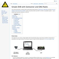 Simple DVB with Gstreamer and GNU Radio - MyLabWiki
