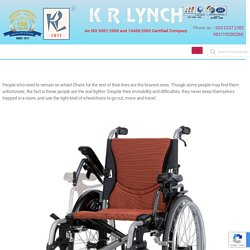 Simple yet Important Buying Guide for Wheel Chair Users