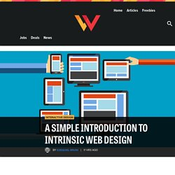 A Simple Introduction to Intrinsic Web Design