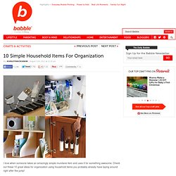 10 Simple Items for Organization | The New Home Ec