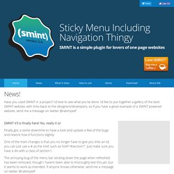 Scroll parallax navigation pearltrees the simple jquery plugin for lovers of one page websites malvernweather Choice Image