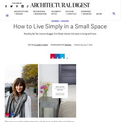 Simple Matters Book - Small Space Ideas
