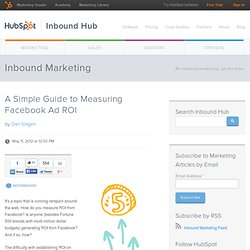 A Simple Guide to Measuring Facebook Ad ROI