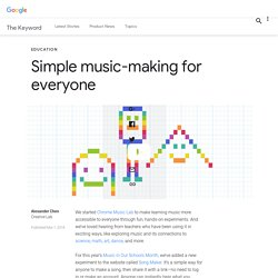 Simple music-making for everyone