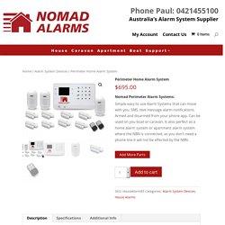 Simple Perimeter Home Alarm System Australia