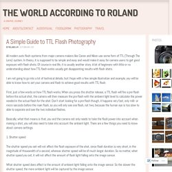 A Simple Guide to TTL Flash Photography