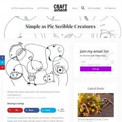 Simple as Pie Scribble Creatures