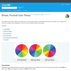 Simple, Practical Color Theory