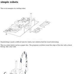 simple robots