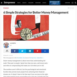 6 Simple Strategies for Better Money Management