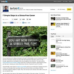 7 Simple Steps to a Stress-Free Career