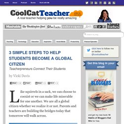 3 Simple Steps to Help Students Become a Global Citizen