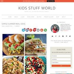 Simple Summer Meal Ideas -