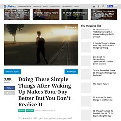 Doing These Simple Things After Waking Up Makes Your Day Better