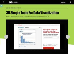 30 Simple Tools For Data Visualization