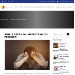 Simple Steps to Understand Depression