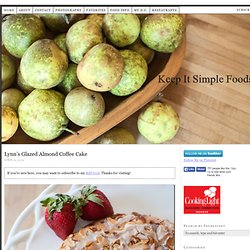 Keep It Simple Foods — easy, vegetarian recipes.
