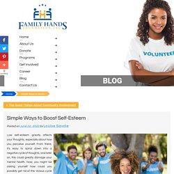Simple Ways to Boost Self-Esteem
