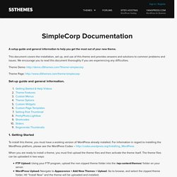 SimpleCorp - Site5 Free Premium WordPress Themes