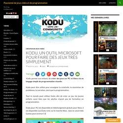 Kodu, un outil Microsoft pour faire des jeux très simplement