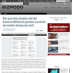 Por que este simples site ganhou o prêmio de melhor design do ano?