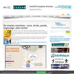 De Simples Machines : Roue, Levier, Poulie, Engrenage, Plan Incliné