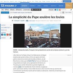 France : La simplicité du Pape soulève les foules