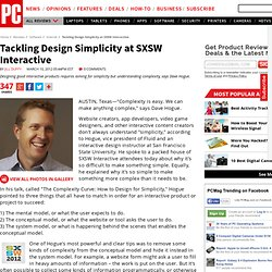 Tackling Design Simplicity at SXSW Interactive