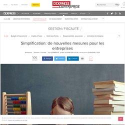 Simplification: de nouvelles mesures pour les entreprises