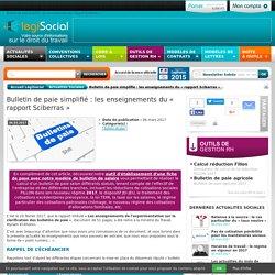 Bulletin de paie simplifié : les enseignements du « rapport Sciberras »