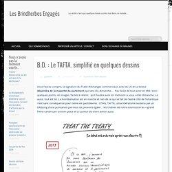 B.D. : Le TAFTA. simplifié en quelques dessins
