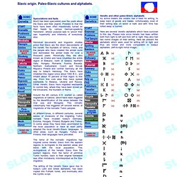 Slavic Language, simplified universal international simplified planned language - SLOVIO