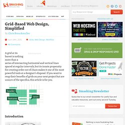 Grid-Based Web Design, Simplified